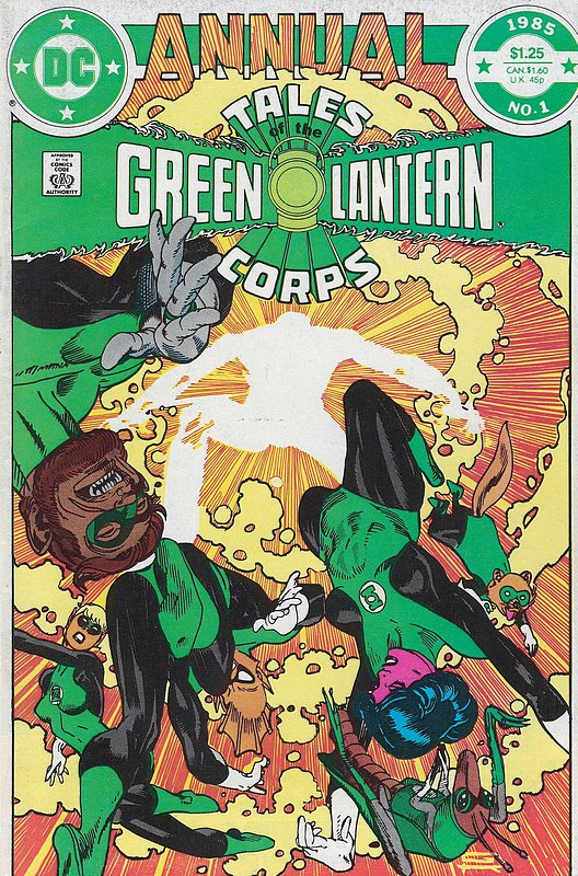 Cover of Green Lantern Corps Annual - Tales of #1. One of 250,000 Vintage American Comics on sale from Krypton!
