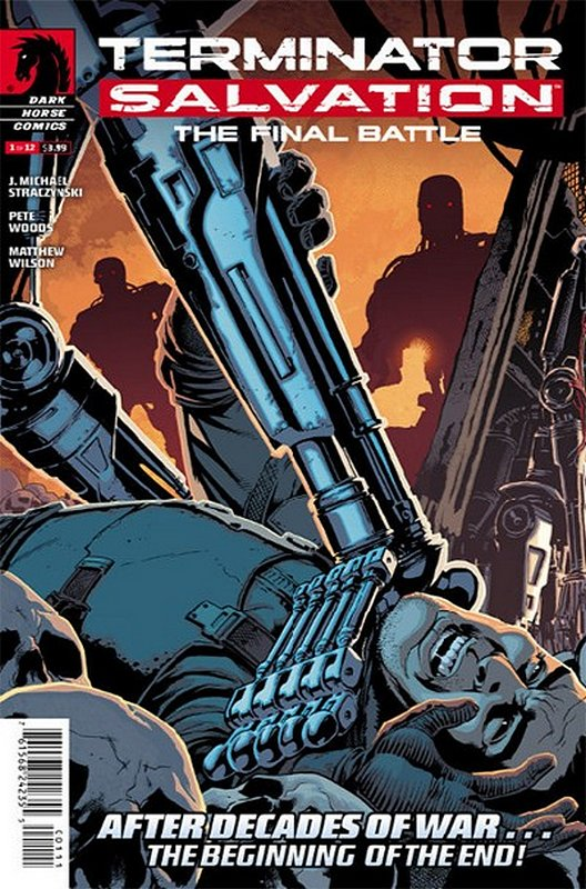 Cover of Terminator: Salvation Final Battle (2013 Ltd) #1. One of 250,000 Vintage American Comics on sale from Krypton!