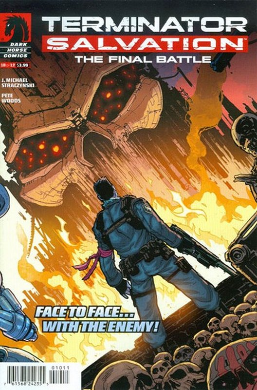 Cover of Terminator: Salvation Final Battle (2013 Ltd) #10. One of 250,000 Vintage American Comics on sale from Krypton!