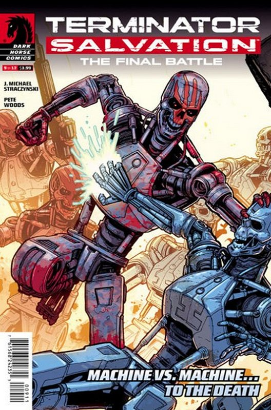 Cover of Terminator: Salvation Final Battle (2013 Ltd) #9. One of 250,000 Vintage American Comics on sale from Krypton!