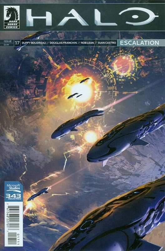 Cover of Halo: Escalation (Vol 1) #17. One of 250,000 Vintage American Comics on sale from Krypton!