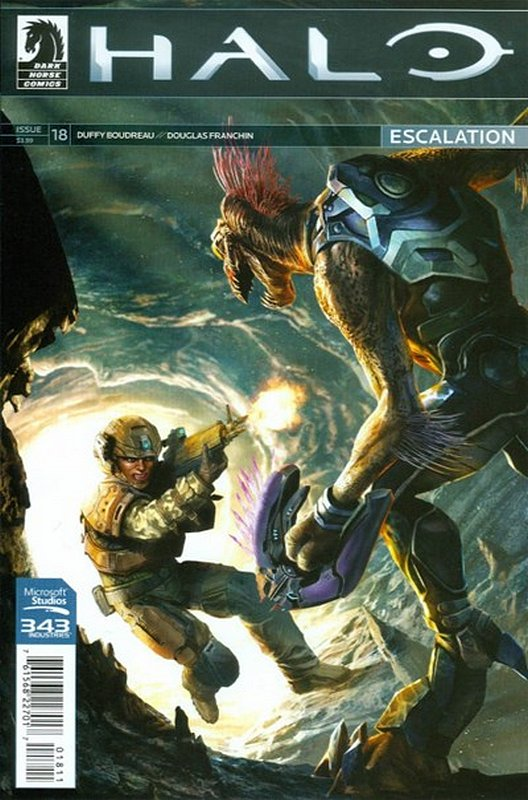 Cover of Halo: Escalation (Vol 1) #18. One of 250,000 Vintage American Comics on sale from Krypton!