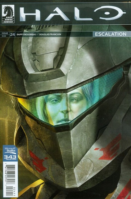Cover of Halo: Escalation (Vol 1) #24. One of 250,000 Vintage American Comics on sale from Krypton!
