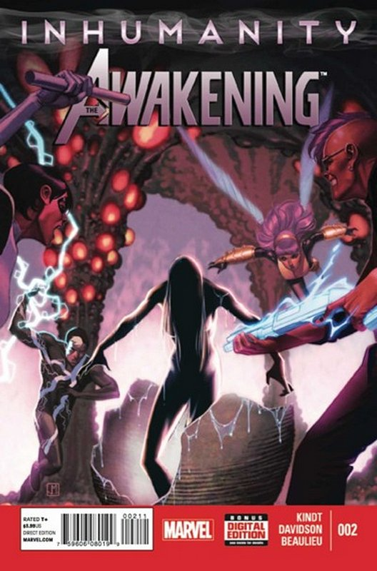 Cover of Inhumanity: Awakening (2013 Ltd) #2. One of 250,000 Vintage American Comics on sale from Krypton!