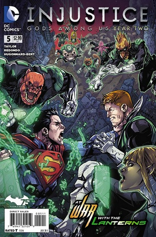 Cover of Injustice: Gods Among Us - Year Two #5. One of 250,000 Vintage American Comics on sale from Krypton!