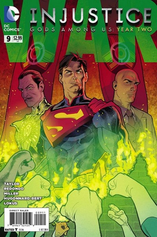 Cover of Injustice: Gods Among Us - Year Two #9. One of 250,000 Vintage American Comics on sale from Krypton!