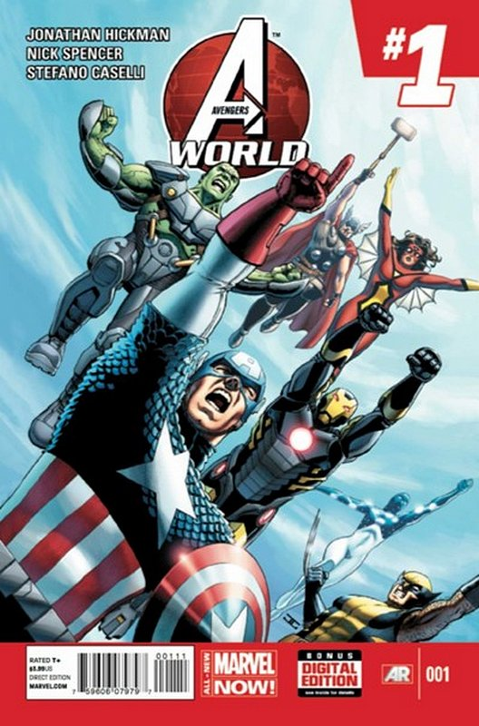 Cover of Avengers World (Vol 1) #1. One of 250,000 Vintage American Comics on sale from Krypton!