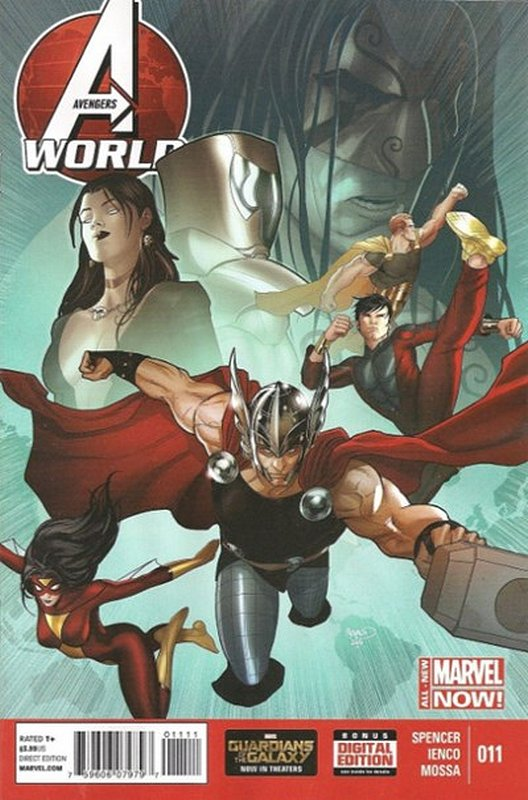 Cover of Avengers World (Vol 1) #11. One of 250,000 Vintage American Comics on sale from Krypton!
