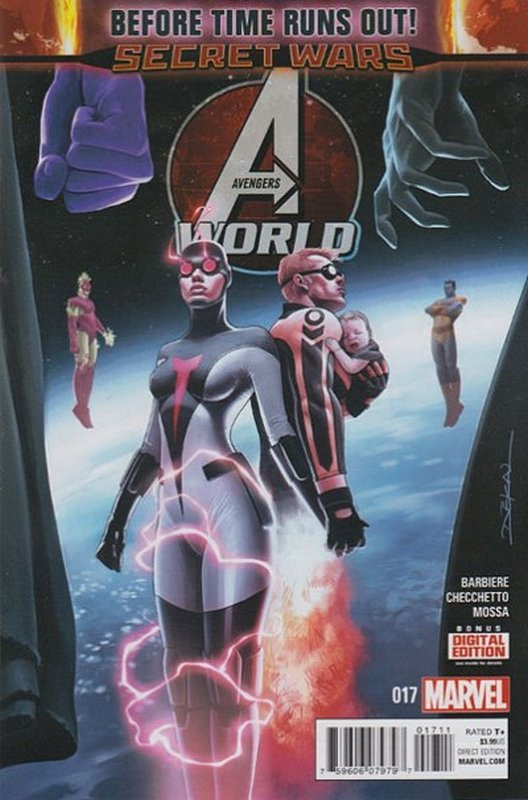 Cover of Avengers World (Vol 1) #17. One of 250,000 Vintage American Comics on sale from Krypton!