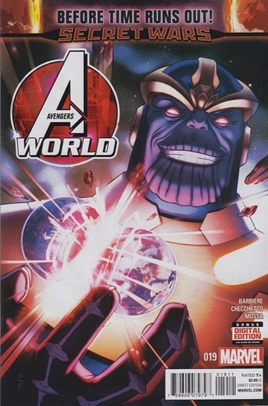 Cover of Avengers World (Vol 1) #19. One of 250,000 Vintage American Comics on sale from Krypton!