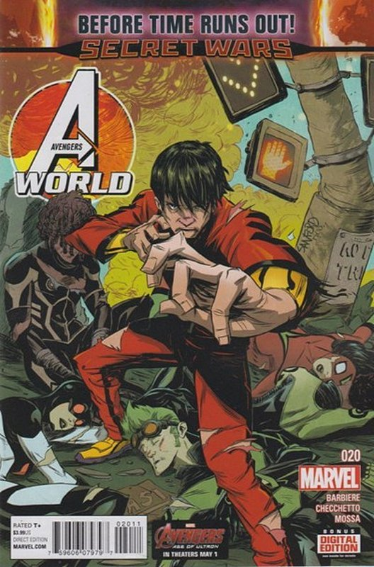 Cover of Avengers World (Vol 1) #20. One of 250,000 Vintage American Comics on sale from Krypton!