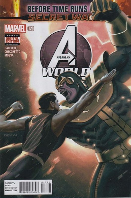 Cover of Avengers World (Vol 1) #21. One of 250,000 Vintage American Comics on sale from Krypton!