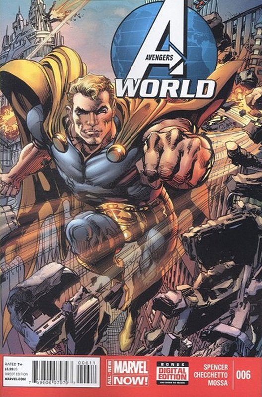 Cover of Avengers World (Vol 1) #6. One of 250,000 Vintage American Comics on sale from Krypton!