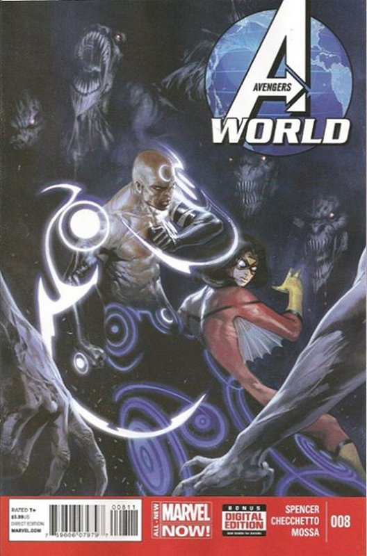 Cover of Avengers World (Vol 1) #8. One of 250,000 Vintage American Comics on sale from Krypton!