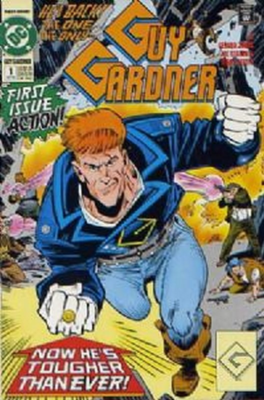 Cover of Guy Gardner (Vol 1) #1. One of 250,000 Vintage American Comics on sale from Krypton!