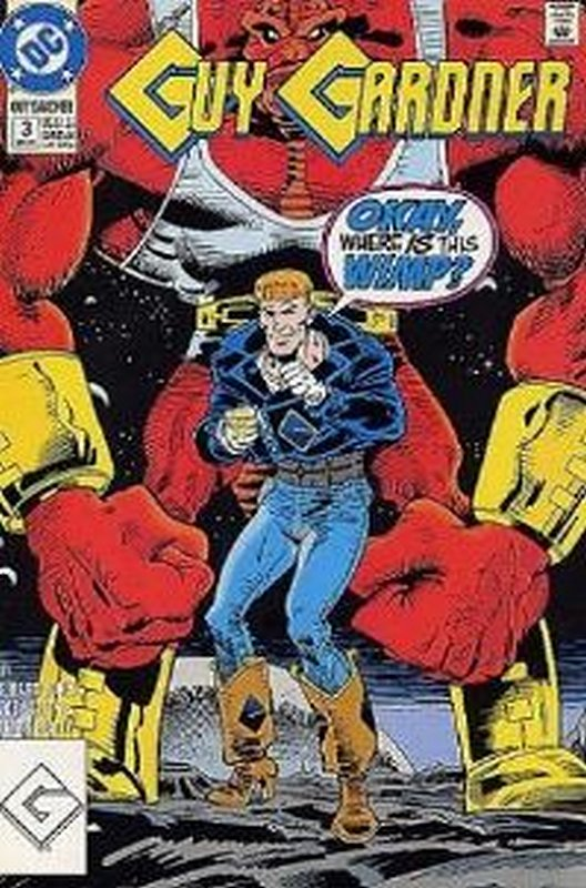 Cover of Guy Gardner (Vol 1) #3. One of 250,000 Vintage American Comics on sale from Krypton!