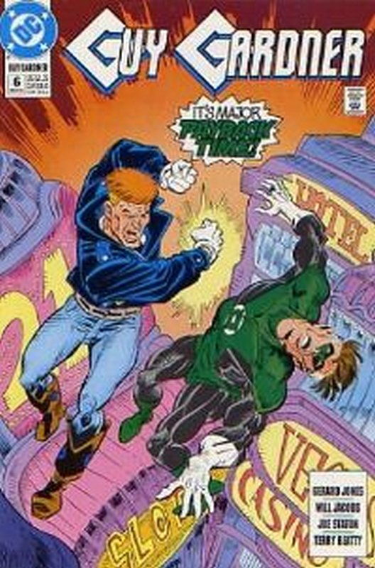 Cover of Guy Gardner (Vol 1) #6. One of 250,000 Vintage American Comics on sale from Krypton!