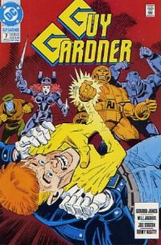 Cover of Guy Gardner (Vol 1) #7. One of 250,000 Vintage American Comics on sale from Krypton!
