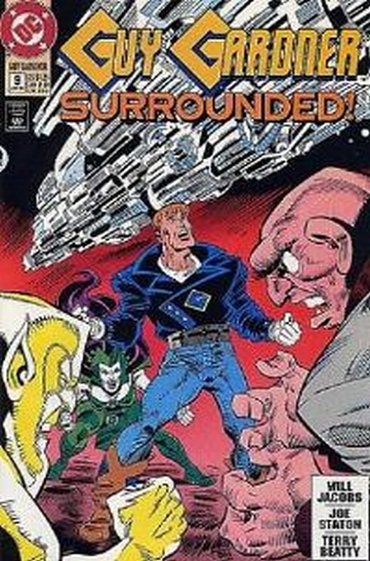Cover of Guy Gardner (Vol 1) #9. One of 250,000 Vintage American Comics on sale from Krypton!