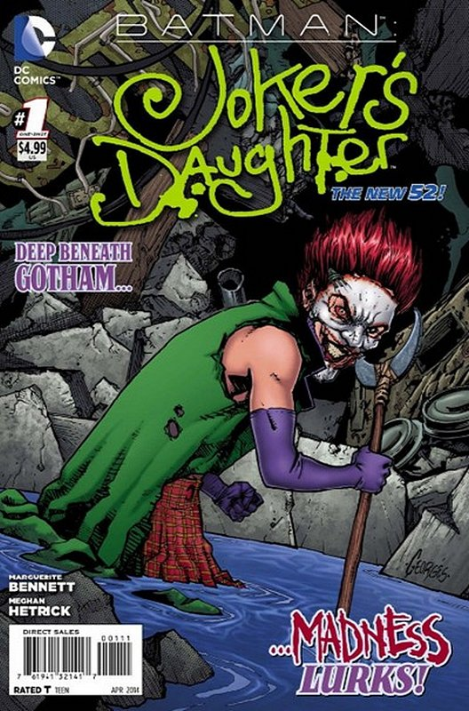 Cover of Batman: Jokers Daughter (2014 One Shot) #1. One of 250,000 Vintage American Comics on sale from Krypton!