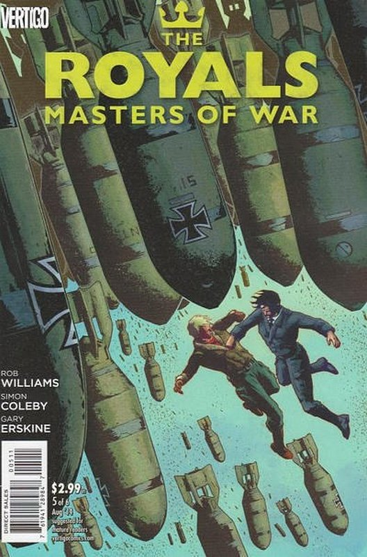Cover of Royals: Masters of War (2014 Ltd) #5. One of 250,000 Vintage American Comics on sale from Krypton!
