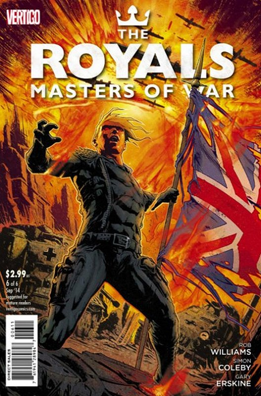 Cover of Royals: Masters of War (2014 Ltd) #6. One of 250,000 Vintage American Comics on sale from Krypton!