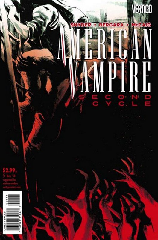 Cover of American Vampire (Vol 2) Second Cycle #5. One of 250,000 Vintage American Comics on sale from Krypton!