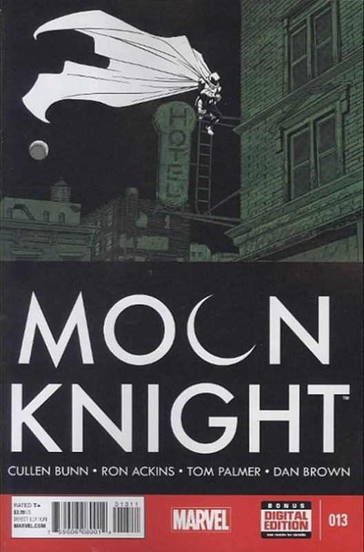 Cover of Moon Knight (Vol 6) #13. One of 250,000 Vintage American Comics on sale from Krypton!