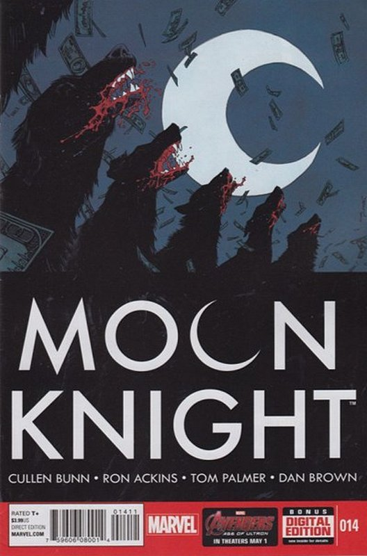 Cover of Moon Knight (Vol 6) #14. One of 250,000 Vintage American Comics on sale from Krypton!