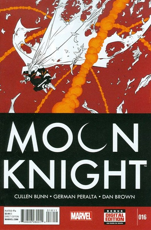 Cover of Moon Knight (Vol 6) #16. One of 250,000 Vintage American Comics on sale from Krypton!