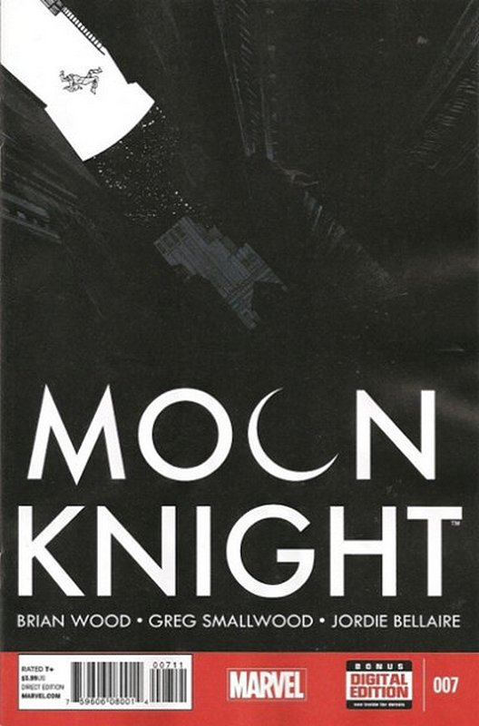 Cover of Moon Knight (Vol 6) #7. One of 250,000 Vintage American Comics on sale from Krypton!