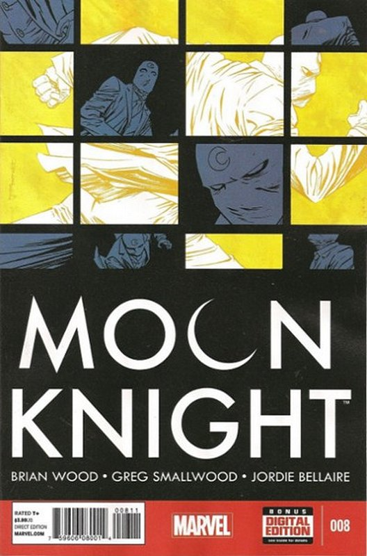 Cover of Moon Knight (Vol 6) #8. One of 250,000 Vintage American Comics on sale from Krypton!