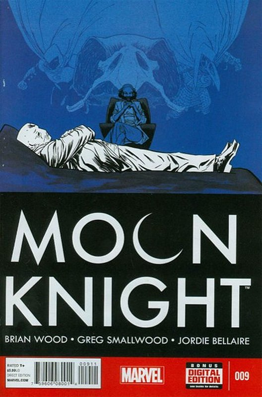 Cover of Moon Knight (Vol 6) #9. One of 250,000 Vintage American Comics on sale from Krypton!