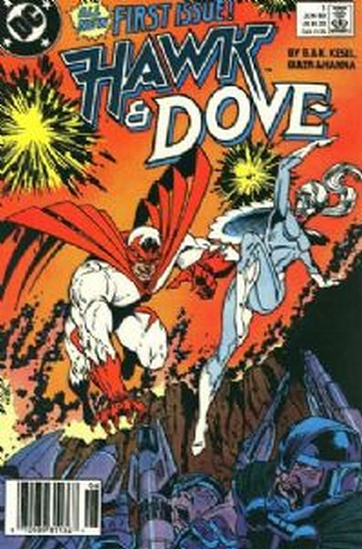 Cover of Hawk & Dove (Vol 2) The #1. One of 250,000 Vintage American Comics on sale from Krypton!