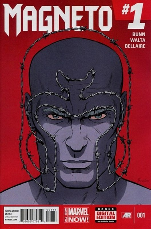 Cover of Magneto (Vol 1) #1. One of 250,000 Vintage American Comics on sale from Krypton!