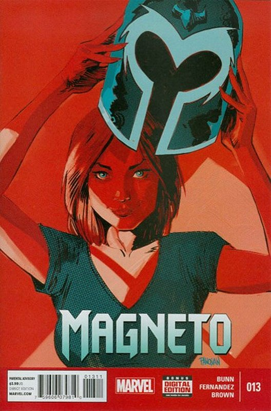 Cover of Magneto (Vol 1) #13. One of 250,000 Vintage American Comics on sale from Krypton!