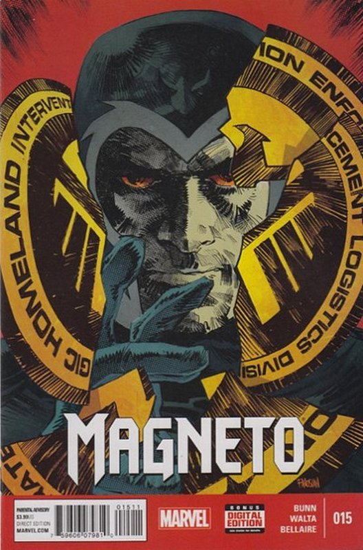 Cover of Magneto (Vol 1) #15. One of 250,000 Vintage American Comics on sale from Krypton!