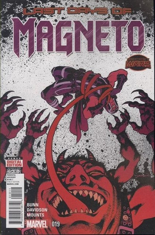 Cover of Magneto (Vol 1) #19. One of 250,000 Vintage American Comics on sale from Krypton!
