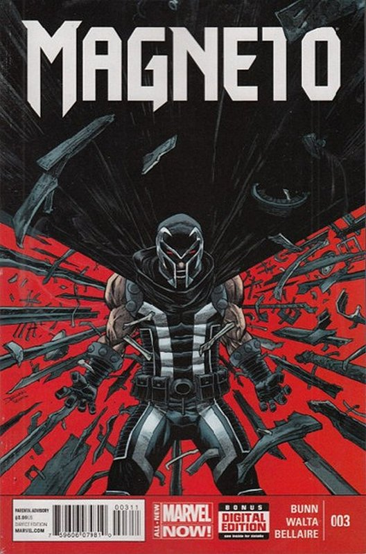 Cover of Magneto (Vol 1) #3. One of 250,000 Vintage American Comics on sale from Krypton!