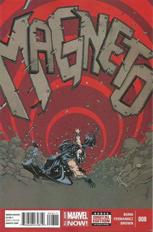 Cover of Magneto (Vol 1) #8. One of 250,000 Vintage American Comics on sale from Krypton!