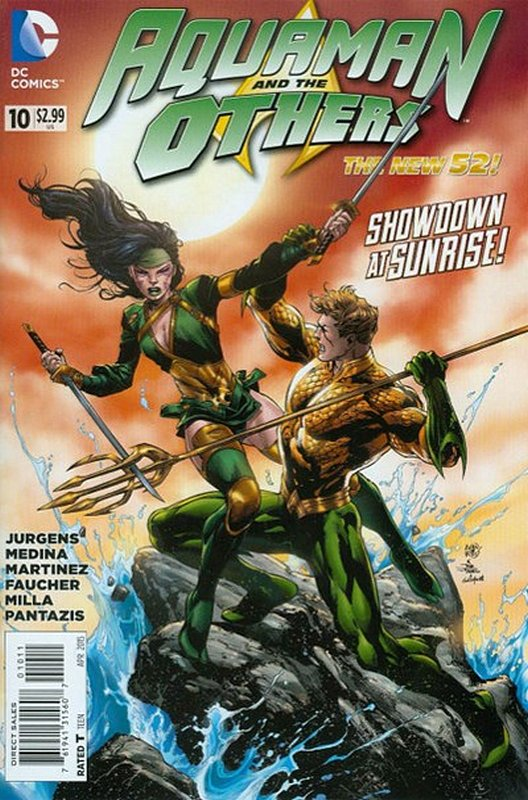 Cover of Aquaman & The Others (Vol 1) #10. One of 250,000 Vintage American Comics on sale from Krypton!