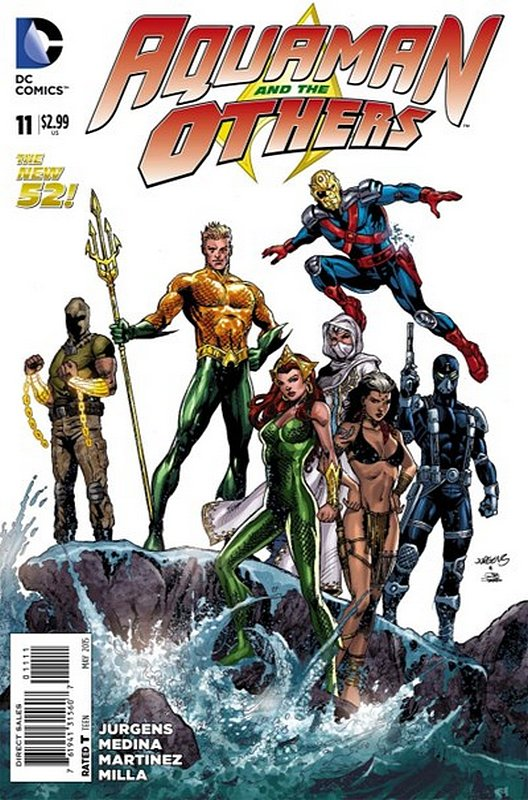 Cover of Aquaman & The Others (Vol 1) #11. One of 250,000 Vintage American Comics on sale from Krypton!
