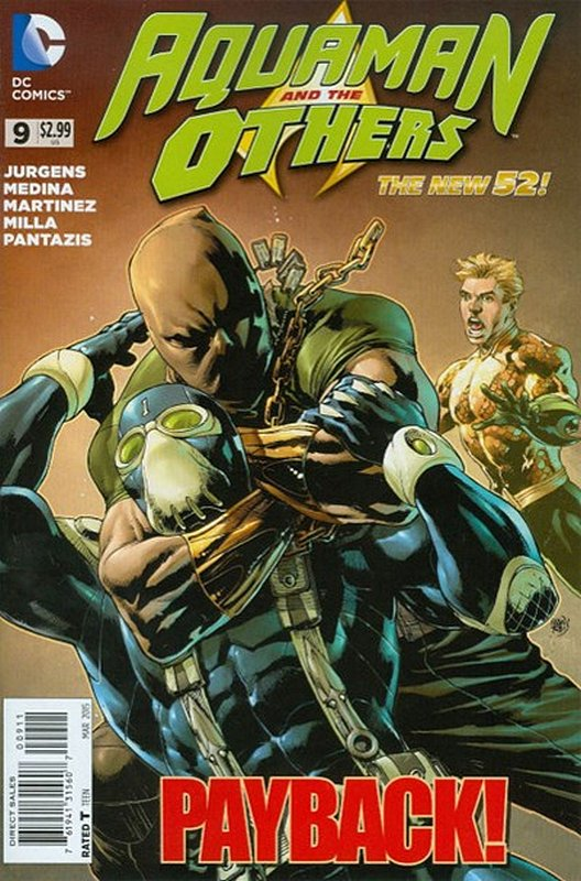 Cover of Aquaman & The Others (Vol 1) #9. One of 250,000 Vintage American Comics on sale from Krypton!