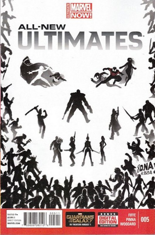 Cover of Ultimates - All-New (Vol 1) #5. One of 250,000 Vintage American Comics on sale from Krypton!