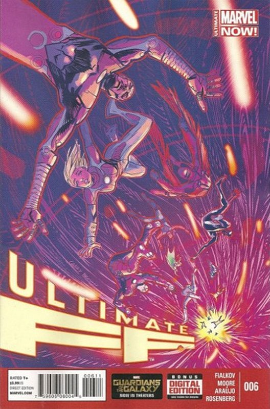Cover of Ultimate FF (Vol 1) #6. One of 250,000 Vintage American Comics on sale from Krypton!