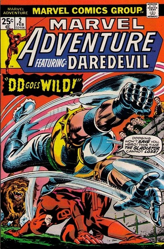 Cover of Marvel Adventure: Featuring Daredevil (Vol 1) #2. One of 250,000 Vintage American Comics on sale from Krypton!
