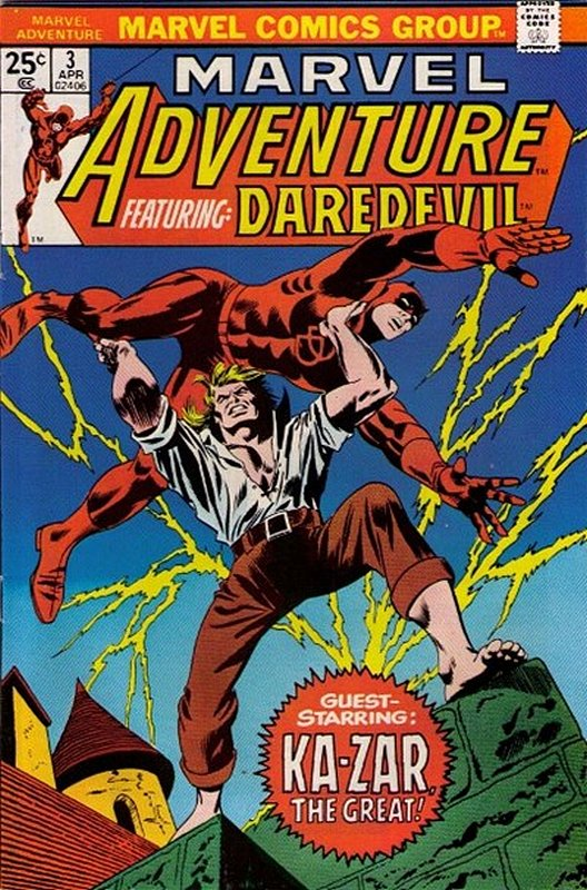 Cover of Marvel Adventure: Featuring Daredevil (Vol 1) #3. One of 250,000 Vintage American Comics on sale from Krypton!