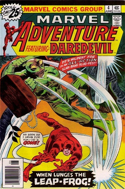 Cover of Marvel Adventure: Featuring Daredevil (Vol 1) #4. One of 250,000 Vintage American Comics on sale from Krypton!
