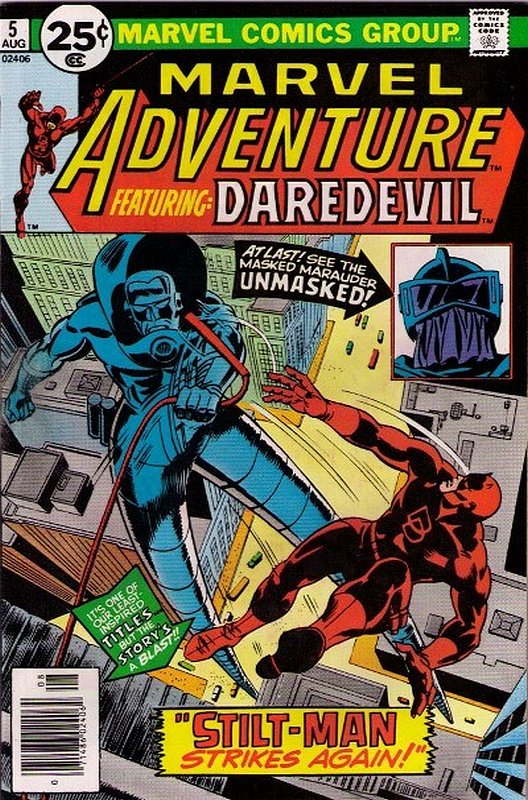Cover of Marvel Adventure: Featuring Daredevil (Vol 1) #5. One of 250,000 Vintage American Comics on sale from Krypton!