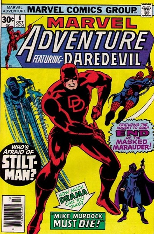 Cover of Marvel Adventure: Featuring Daredevil (Vol 1) #6. One of 250,000 Vintage American Comics on sale from Krypton!